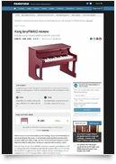 Tiny Piano Pink