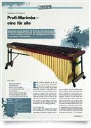 YM 5100 A Marimba 443Hz