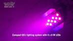 Eurolite LED CLS-9 QCL RGBW 9x8W