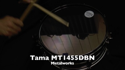 Tama MT1455DBN Metalworks Snare