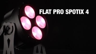 Cameo Flat Pro Spotix 4 - LED TRI Colour Spot PAR