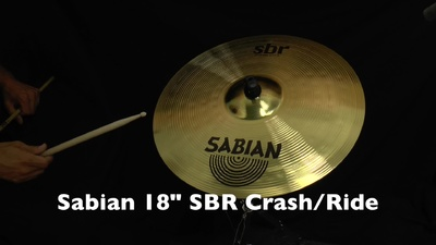Sabian 18 SBR Crash/Ride