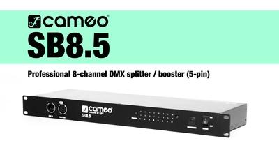 Cameo SB8.5: 8-Kanal DMX Splitter / Booster