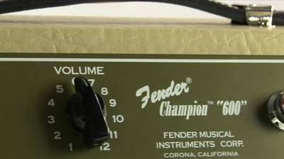 Fender Champion 600 Vollröhren E-Gitarren Combo