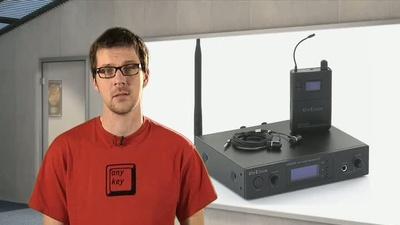 The t.bone IEM 100 - 800 MHz UHF Wireless InEar-System
