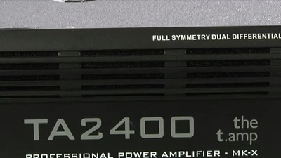 the t.amp TA2400 MK-X Endstufe