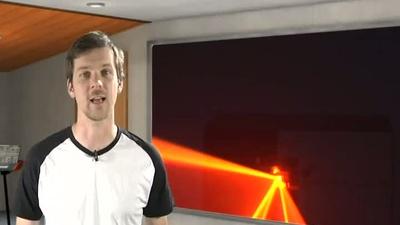 Stairville DJ Lase 100-R Rot Laser-Effekt Projektor