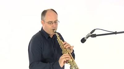 Thomann silverSAX Sopransaxophon