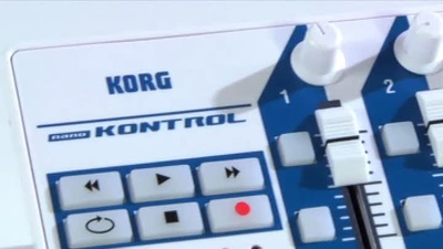 KORG nanoKONTROL Kompakter MIDI/USB-Controller
