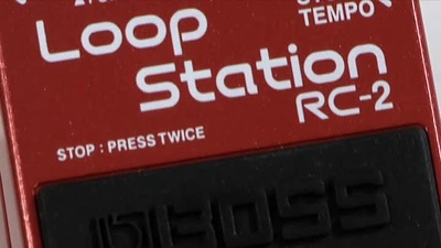 Boss RC-2 Loop Station Bodenpedal