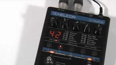TC-Helicon VoiceTone Create Effektgerät