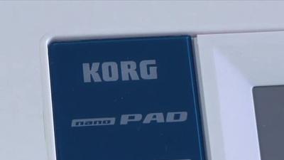 Korg nanoPAD Kompakter MIDI/USB-Padcontroller