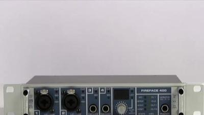 RME Fireface 400 Firewire Audio & MIDI Interface