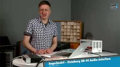 Steinberg UR 44 Audio-Interface - MusoTalk.TV