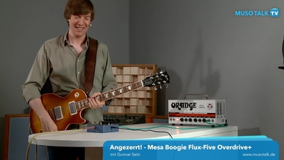 Mesa Boogie Flux-Five Overdrive+ Effektpedal - MusoTalk-TV