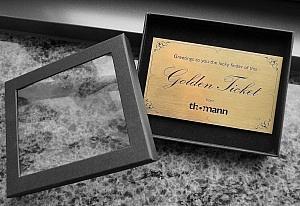 Das Golden Ticket von Thomann