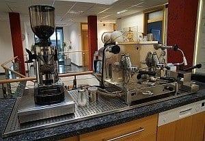 Unsere Kaffeemaschine