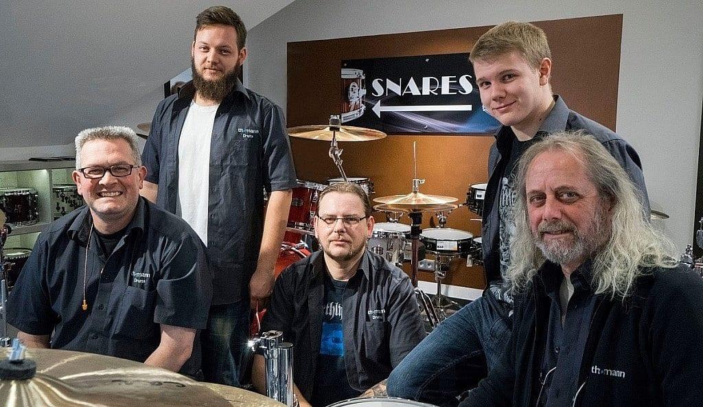 Torsten, Clemens, Uwe, Leon und Peter
