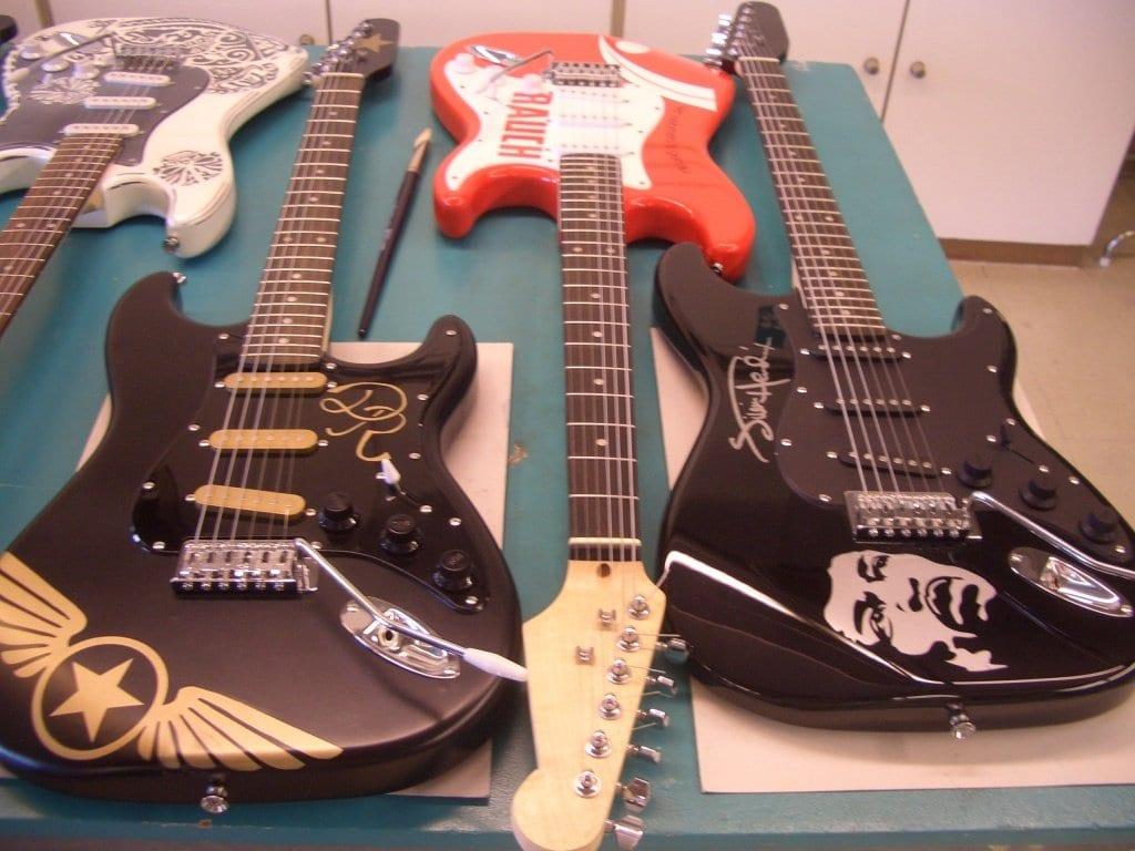 concours diy r alisez votre guitare harley benton