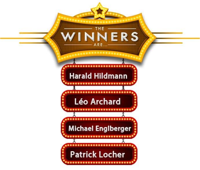 Gagnants mai 2016