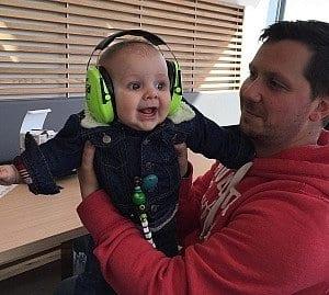 """Gehörschutz ist ebenso für kleine Musiker erhältlich (""""Mickymäuse"""")"""