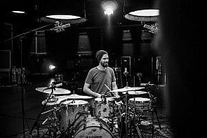 Benny Greb an den Drums