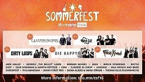 Alle Top-Acts des Sommerfests