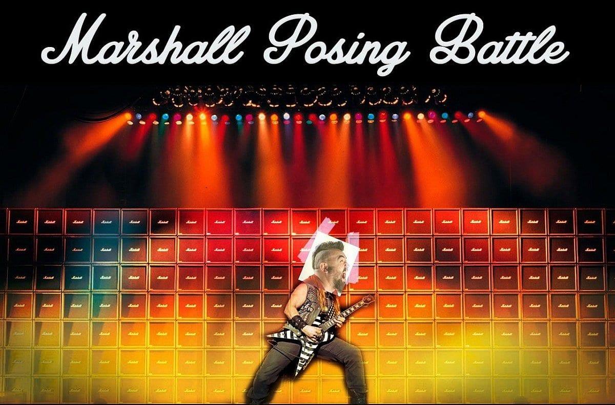 Marshall Posing Battle