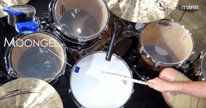 Drum Dampening mit Moongel