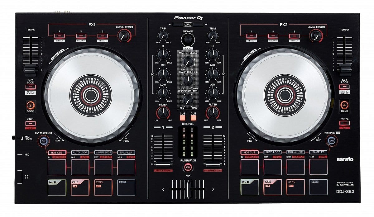 top 5 dj controllers for beginners. Black Bedroom Furniture Sets. Home Design Ideas