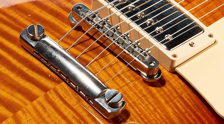 Winomo Tune-o-matic Ensemble de cordier et de chevalet pour guitare Gibson Les Paul
