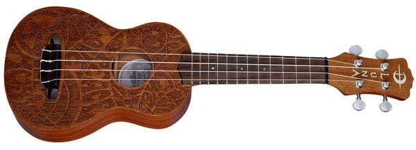 Luna Guitars Ukulele Peace Love