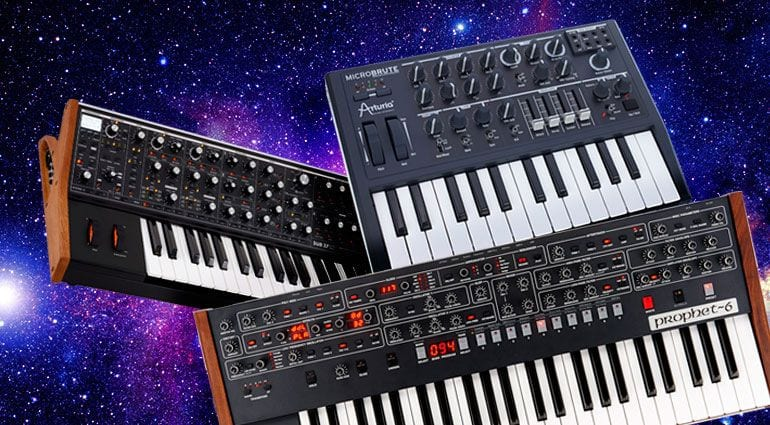 (Synthesizer, Sumber: www.thomann.de)