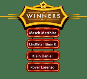 Winners November 2018