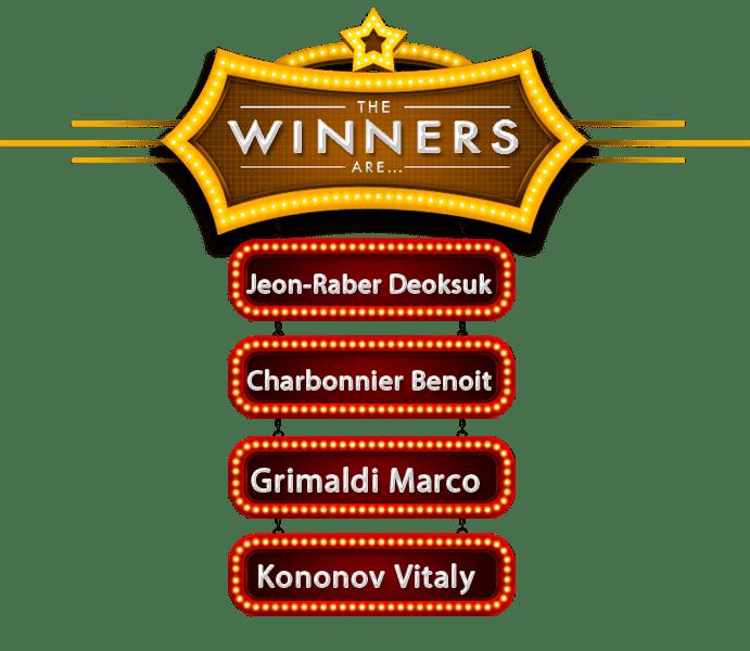 Winners December 2018