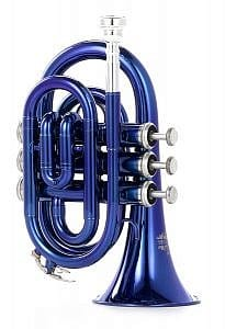 Thomann TR 5 Bb-Taschentrompete blau