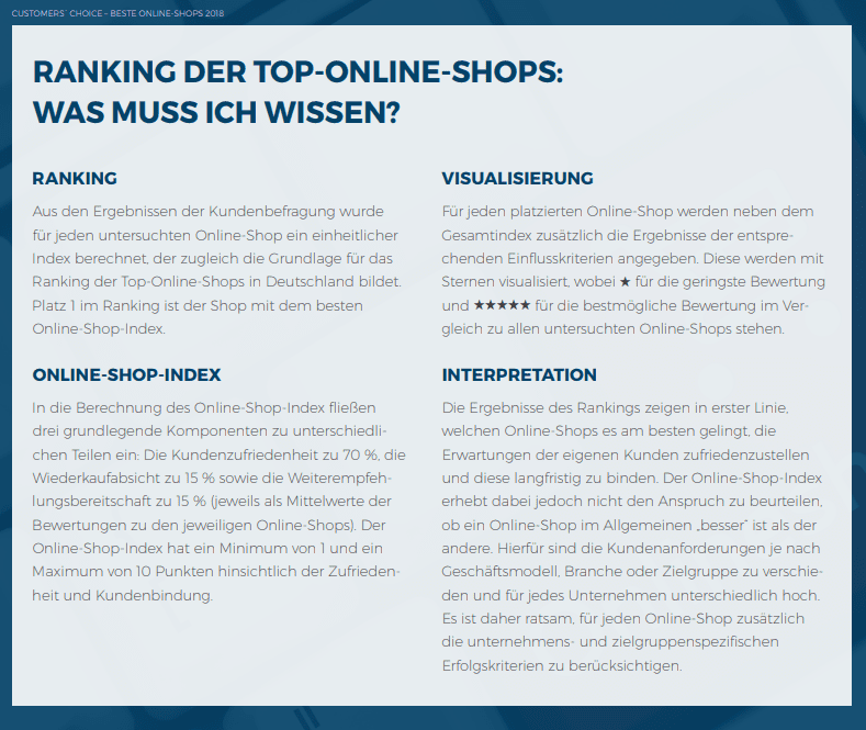Deutscher Online Handels Award 2018 Wir Sagen Danke Tblog