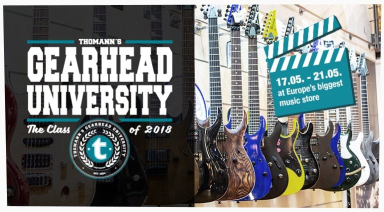 THOMANN'S GEARHEAD UNIVERSITY #TGU18 LIVE UPDATES