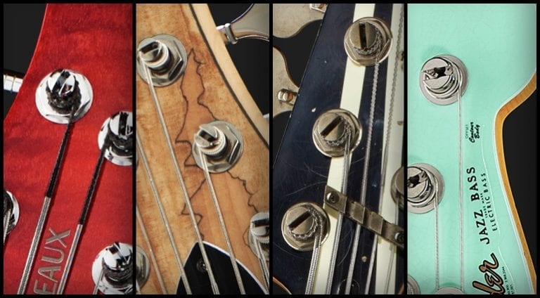 Quiz - Match the headstock to the bass!