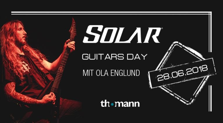 Solar Guitars Day mit Ola Englund