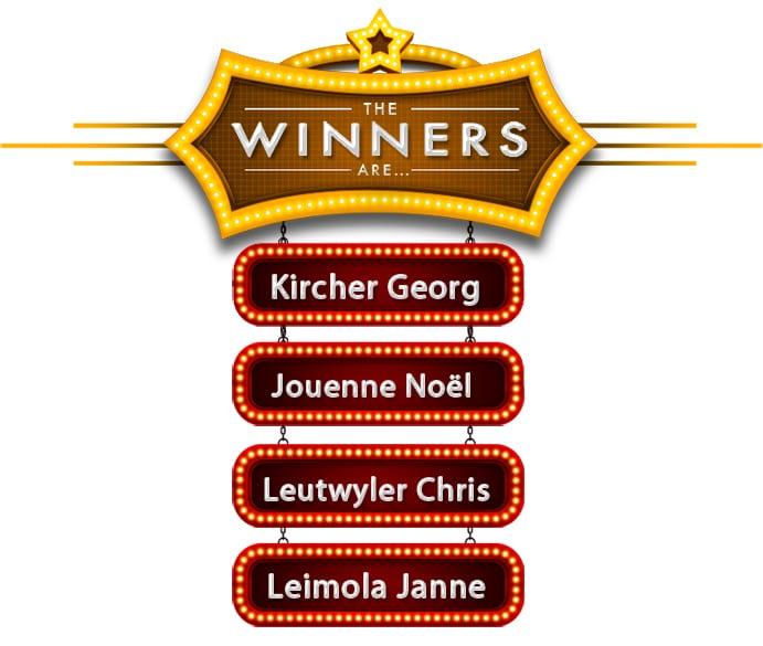 Gewinner August 2018