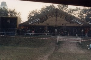 Ensimmäinen Wacken lava koossa