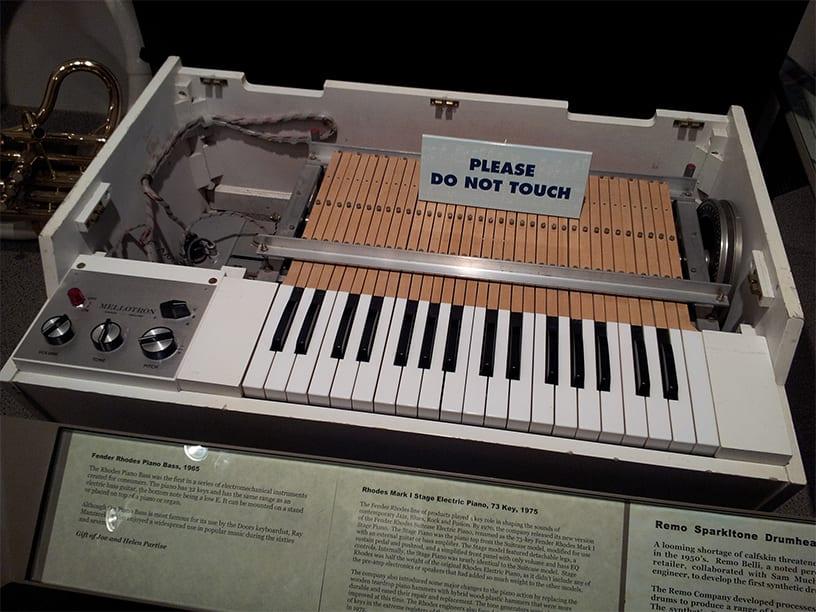 Mellotron MkII 1960s - courtesy of Wikipedia