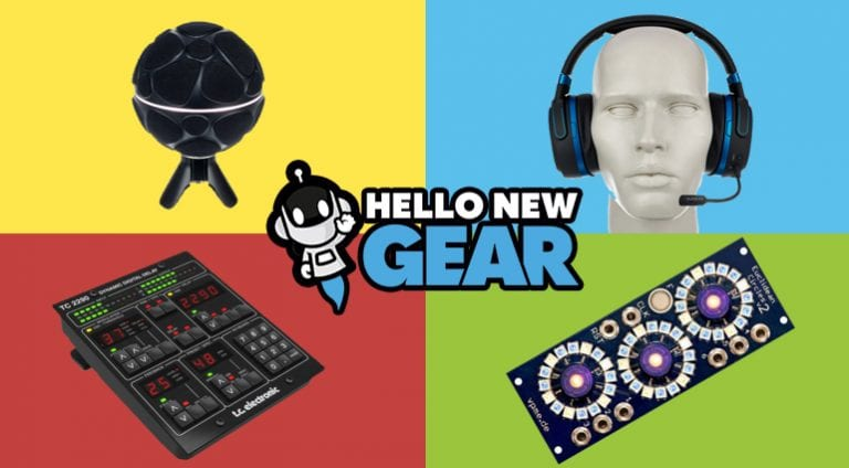 Hello New Gear - Novembre 2018