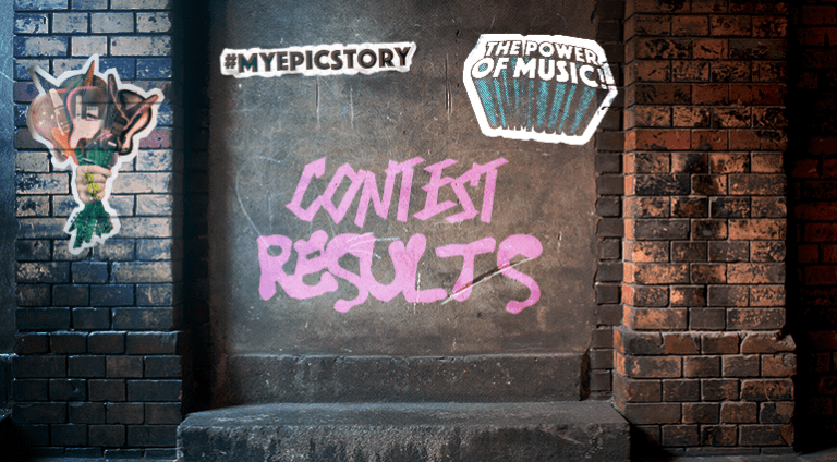 Contest Results #MyEpicMusicStory