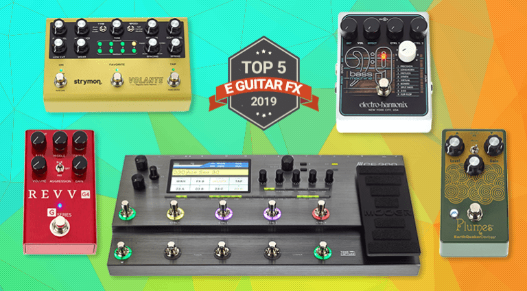 Top 5 Guitar Pedals of 2019