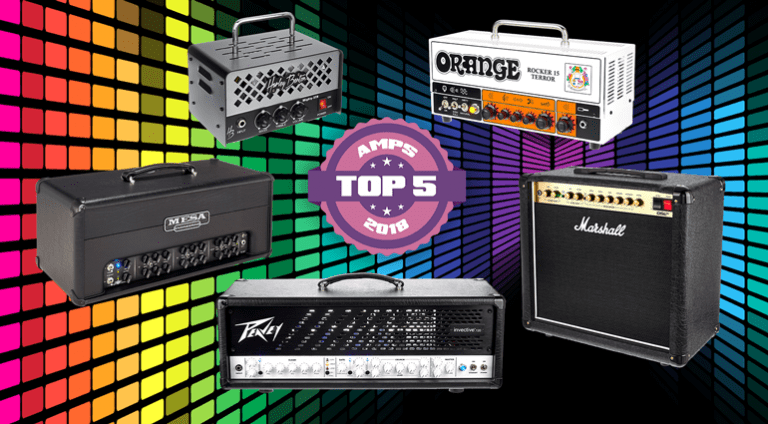 Top 5 Guitar Amps of 2018