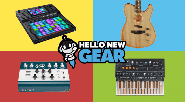 Hello New Gear - NAMM 2019 edition