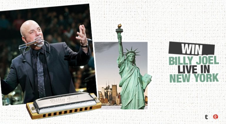 Contest: Win a trip to NYC to see Billy Joel live!