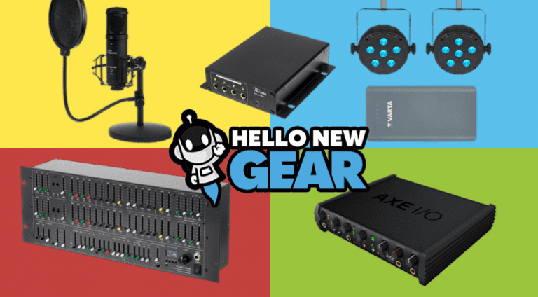 Hello New Gear - Marzo 2019